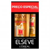 Kit Elseve Óleo Extraordinário com 1 Shampoo Nutrição de 375ml + 1 Condicionador Nutrição de 170ml