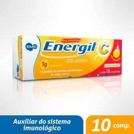 ENERGIL C VITAMINA 1G 10 COMPRIMIDOS EFERVESCENTES