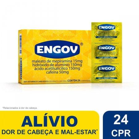 ENGOV CAIXA COM 24 COMPRIMIDOS
