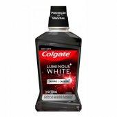 Enxaguante Bucal Colgate Luminous White Carvão com 500ml