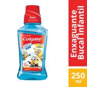 COLGATE PLAX ENXAGUANTE BUCAL MINIONS 250ML