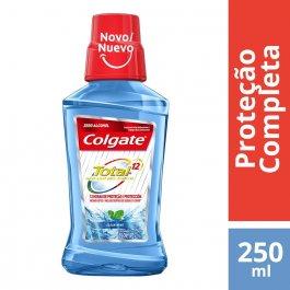 Enxaguante Antisséptico Bucal Colgate Total 12 Clean Mint com 250ml