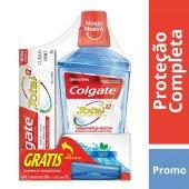 Kit Enxaguante Bucal Colgate Total 12 Clean Mint