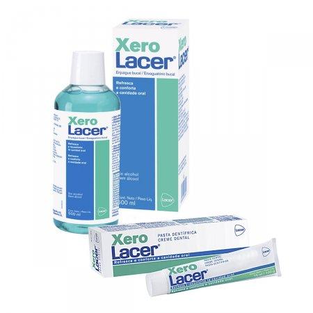 Enxaguatório Bucal XeroLacer + Creme Dental Xerolacer
