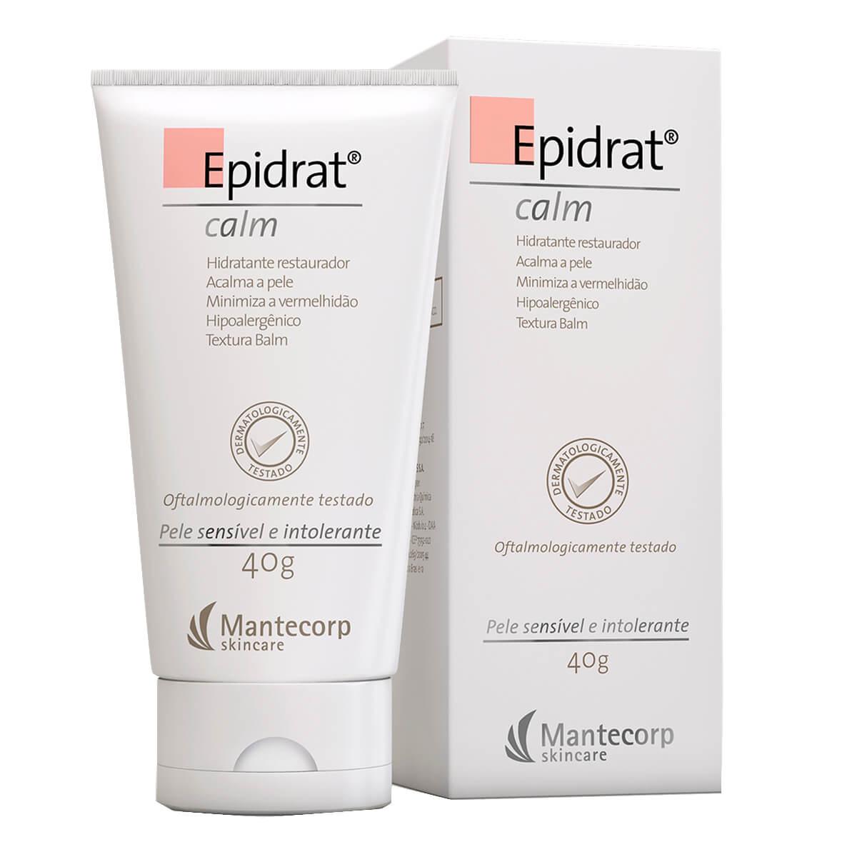 Hidratante Facial Epidrat Calm Pele Sensível com 40g 40g