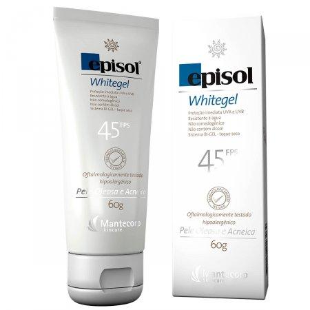Protetor Solar Episol Whitegel FPS45