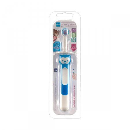 Escova Dental MAM Training Brush Azul
