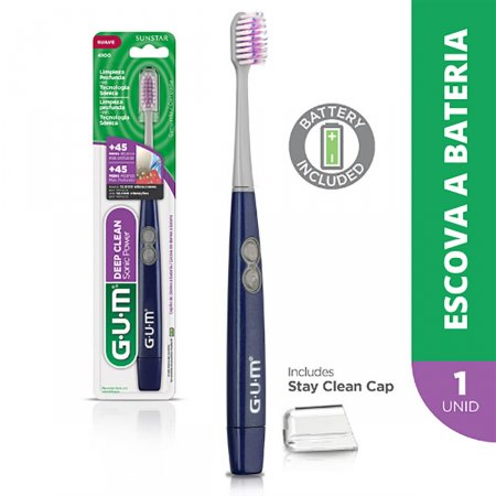 Escova Elétrica Dental G.U.M Deep Clean Sonic Power