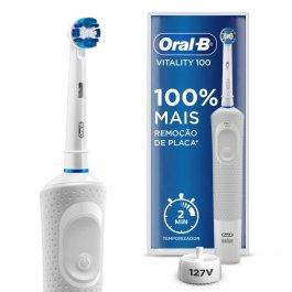 Escova de Dente Elétrica Oral-B Vitality Precision Clean 127v