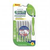 Escova de Dente Interdental Portátil G.U.M Proxabrush Cerda Fina 1.1mm com 6 unidades