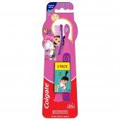 Escova de Dente Colgate Infantil Smiles Agnes e Fluffy 2-5 Anos Extra Macia com 2 unidades