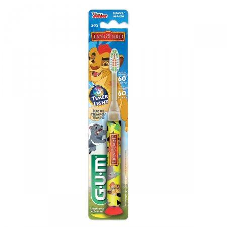 Escova Dental Infantil Gum Disney Light A Guarda do Leão