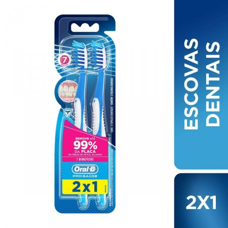 ORAL B ESCOVA DENTAL PRO-SAUDE 7 BENEFICIOS LEVE 2 PAGUE 1