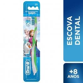 Escova Dental Oral-B Stages 4 Frozen com 1 Unidade