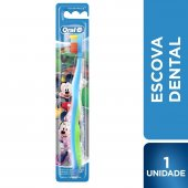 Escova Dental Infantil Oral-B Mickey