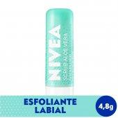 Esfoliante Labial Nivea Scrub Aloe Vera com 4,8g