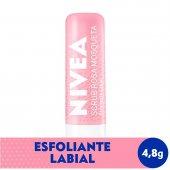 Esfoliante Labial Nivea Scrub Rosa Mosqueta com 4,8g