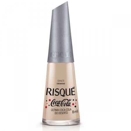 Esmalte Cremoso Risqué Última Coca-Cola do Deserto