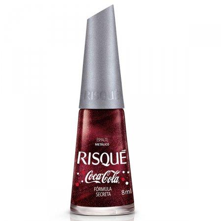 Esmalte Metálico Risqué Coca-Cola Fórmula Secreta