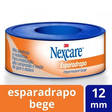 NEXCARE ESPARADRAPO IMPERMEÁVEL BEGE 12MMX3M