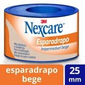 Esparadrapo Impermeável Nexcare Bege 25mm x 3m