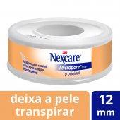 Fita Micropore Nexcare Bege 12mmx4,5m