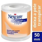 Fita Micropore Nexcare Bege 50mmx4,5m