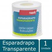 NEEDS ESPARADRAPO TRANSPARENTE 5CM X 4,5M