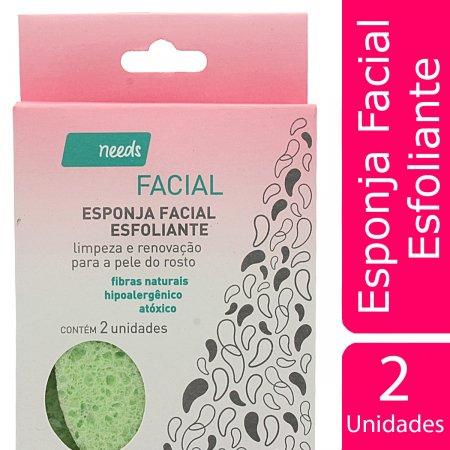 Esponja Facial Esfoliante
