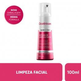 Espuma de Limpeza Facial Cicatricure 2 em 1 com 100ml