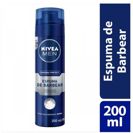NIVEA ESPUMA DE BARBEAR FOR MEN 193 G