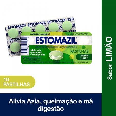 Estomazil Limão com 10 Pastilhas Foto 2