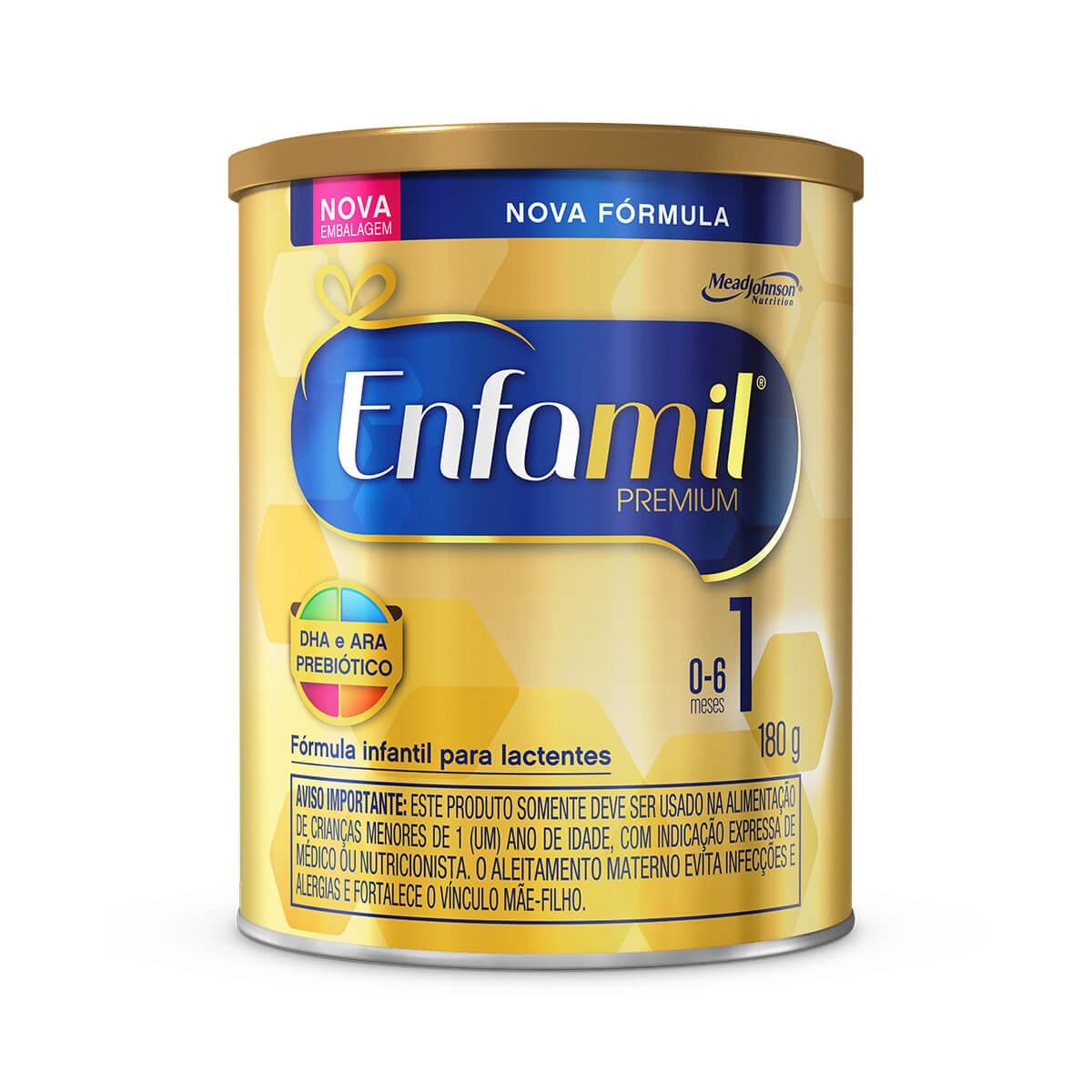 Fórmula Infantil Enfamil Premium 1 com 180g 180g