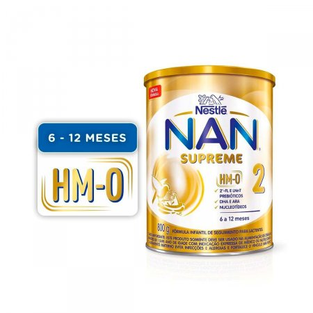 Fórmula Infantil NAN Supreme 2 HM-O com 800g