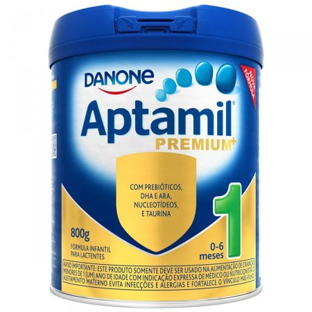Fórmula Infantil Aptamil Premium 1 800g   Drogasil.com Foto 1