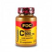 FDC COMPLEXO VITAMINICO 500 MG C FILM COATED 30 'S