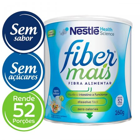 Fibra Alimentar Nestlé Fiber Mais Sem Sabor