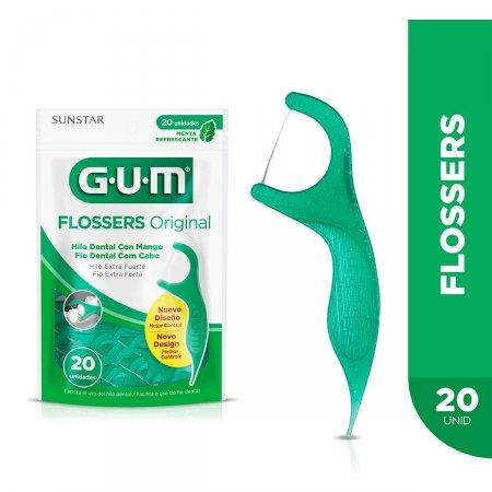 GUM FLOSSERS ORIGINAL 20 UNIDADES