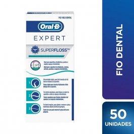 Fio Dental Oral-B SuperFloss com 50 unidades