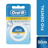 Fio Dental Encerado Oral-B Essential Floss
