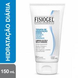 Sabonete Líquido Hidratante Facial Fisiogel Pele Seca e Sensível com 150ml