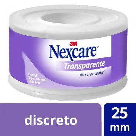 NEXCARE FITA TRANSPORE TRANSPARENTE 25MMX4,5M