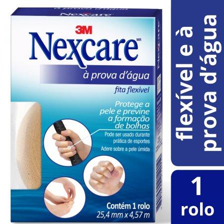 NEXCARE FITA FLEXIVEL PROVA D'ÁGUA 25MMX4,5M
