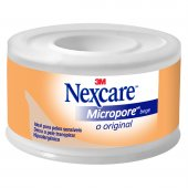 Fita Micropore Nexcare Bege 25mm... Fita Micropore Nexcare Bege 25mm x 4,5m