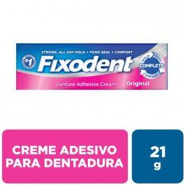Creme Fixador de Dentadura Fixodent Original com 21g