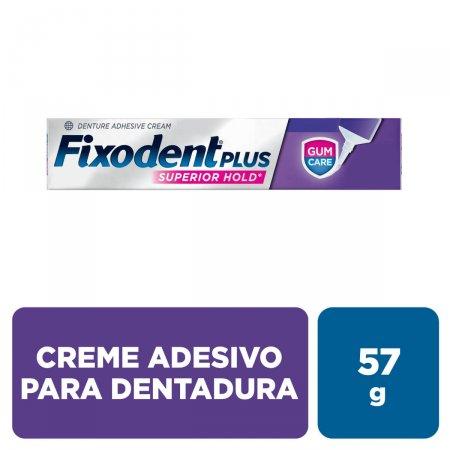 Creme Adesivo para Dentadura Fixodent Plus Gum Care