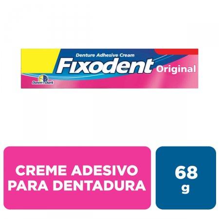 Creme Fixador de Dentadura Fixodent Original