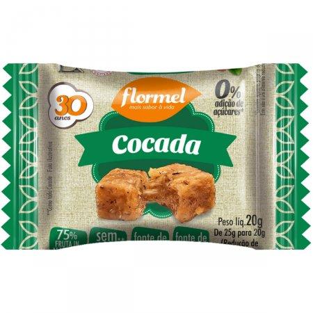 Cocada Zero Flormel 20g  