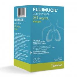 Fluimucil Xarope Expectorante Pediátrico com 120ml