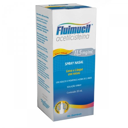 Fluimucil Solução Nasal
